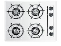 Summit's built-in gas cooktops offer quality