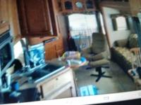 This is a 2006 Summit Ridge 5th wheel by Americamp,