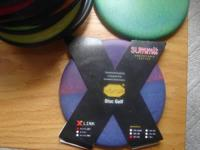Summit Vibram Disc Golf Putter. New. Purple/Multi.