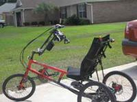 Sun Long Distance 3 Wheel Recumbent Bicyles. Excellent