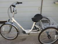 Sun Miami tricycle. Made use of a few times. 3-speed.