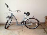 This listing is for a blue Sunlight cruiser