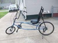 Sun E2 Sport AX Recumbent bike. Bought new last year,