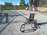 Sun USX Delta Recumbent Trike. Like New Under seat