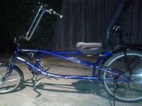 2010 Sun EZ-Sport CX Recumbent Bike. 24 speed, relaxed