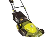 The Mow Joe MJ407E-RM is a powerful corded electric