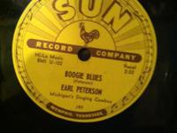 ***HARD TO FIND***SUN RECORD CO. #197 Earl Peterson 78