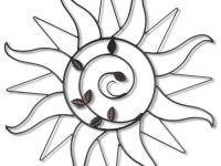 The Sun Sprout wall piece will brighten up any wall. At