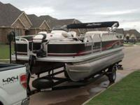 For Sale 2011 Sun Tracker Fishing Barge 21 Pontoon