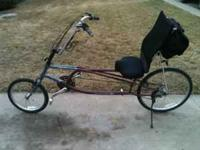 For sale sun sport cx recumbent 21 speed very clean