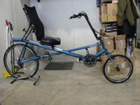 New Recumbent Bicycle  Sun X2 AX  Sold at Tryathletics