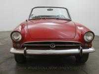 1967 Sunbeam Alpine Convertible1967 Sunbeam Alpine