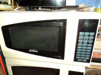 Nice Microwave Oven by Sunbeam Control touch buttons