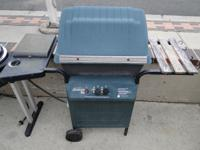 Sunbeam Propane LP BBQ Barbecue Grill with Side Burner,