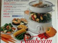 Sunbeam 8 Quart Food Steamer - $23 - Excellent