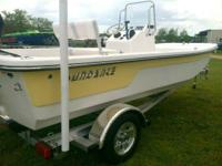 SUNDANCE F17CCR YELLOW HULL WITH MERCURY 60HP ELPT