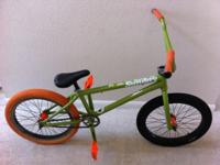 "Sunday ""EX-Ross"" 2012 BMX Bike. The green Sunday"