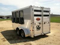 Features of this ALL ALUMINUM trailer include drop down
