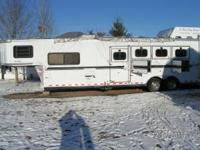 2004 Sundowner Sierra 8010 38 Ft. four horse trailer.