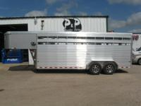 Sundowner Rancher 20 amp 039 stock trailer has a