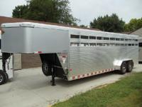 Sundowner Rancher 24 Gooseneck Trailer. MSRP 19,736.00.