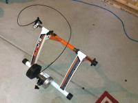 I have a SunLite magnetic trainer that I used once
