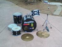 For sale is this great deal of drum kit things. The