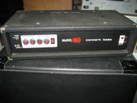 solid state vintage amp head only. CALL          Sunn