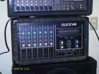 I have a sunn powered mixer sx6350 6 channel 350w per