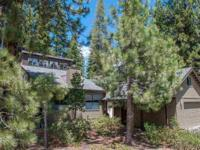 This sunny modern cabin is located in Tahoe Donner,