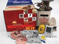 SunTouch Electric Radiant WarmWire Kits 10sq. ft Now