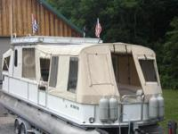 This boat was for sale this spring. The buyer had to