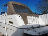 I have a SUPER 29 Ft. Crownline CR290 Cruiser with