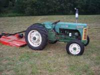 I am selling my Super 55 Oliver tractor with an almost