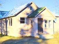 For sale 2 bed/1 bath house in Sebeka, Minnesota. Needs