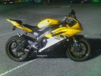 I have for sale a 2006 Yamaha R6 50th anniversary