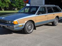 "Super Clean 1987 BUICK CENTURY """" WOODY """" STATION"