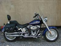 2007 Harley Davidson FLSTF Fat Boy. Only 2500 miles on
