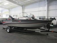 SUPER CLEAN 2014 TRACKER TARGA V-18 COMBO WT WITH ONLY