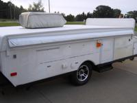 THIS SUPER CLEAN TURN UP CAMPER IS KEPT INDOORS AND IS