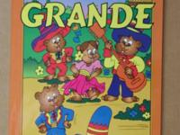 """Super Grande"" Libro Para Colorear (with orange cover)"