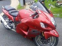 For sale is a 2006    Suzuki Hayabusa bike. Vehicle