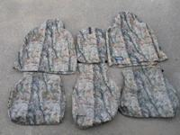Gently used Full Set of Super Hide Seat Covers, Cordura