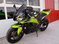 This auction is for one 2009 Honda CBR 600RR. The bike