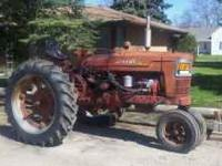 Farmall Super M 1953 has live power runs good $1850