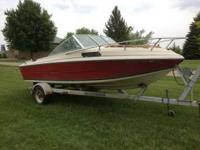 We are selling our 1986 stingray ss195 with 140hp