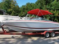 2001 Cobalt 226 23 foot bowrider for sale. This boat