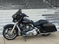 2013 Harley Davidson FLHX Street Glide. Just 7500 miles