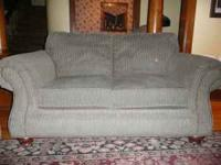 Broyhill couch and loveseat. Clean. Great shape. Super