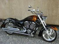 2007 Victory Kingpin 100CI. Awesome looking, great